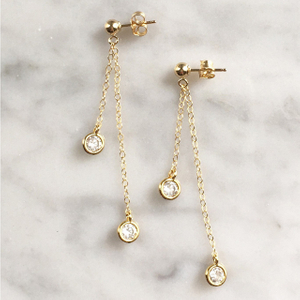 New Latest Design Gold Plating Wedding Earring Jewelry YCE6940